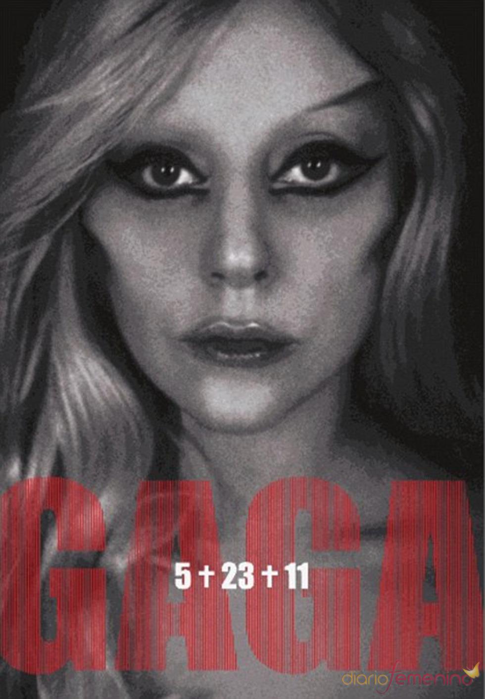 Una foto de Lady Gaga promocionando 'Born this way'