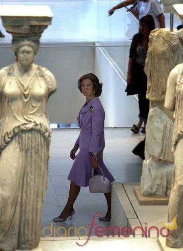 La Reina Sofía visita Atenas