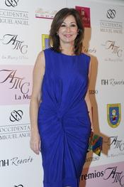 Ana Rosa Quintana en los premios AMC 'La Mujer y el vino'