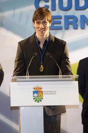 Fernando Torres, Medalla de la Ciudad de Fuenlabrada