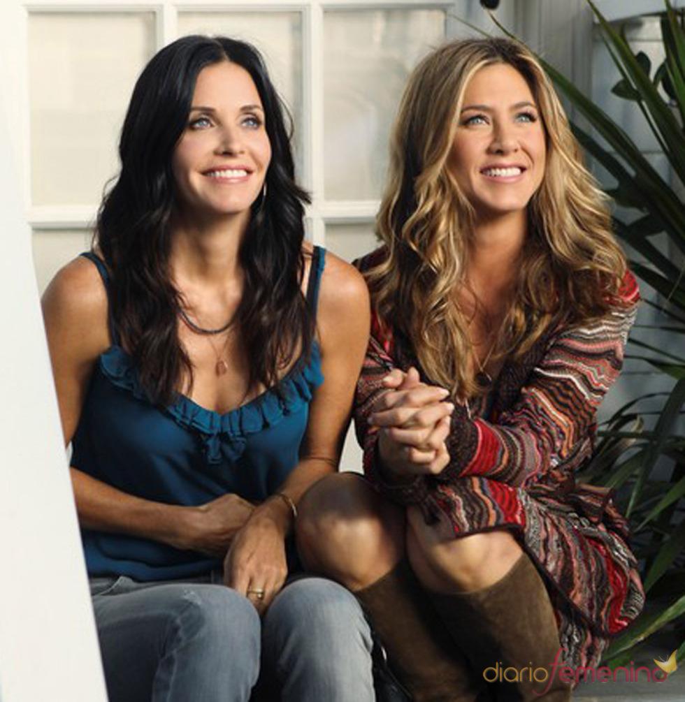 Courteney Cox y Jennifer Aniston juntas en 'Cougar Town'