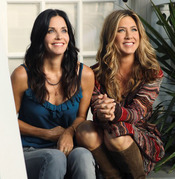 Courteney Cox y Jennifer Aniston juntas en 'Cougar Town'