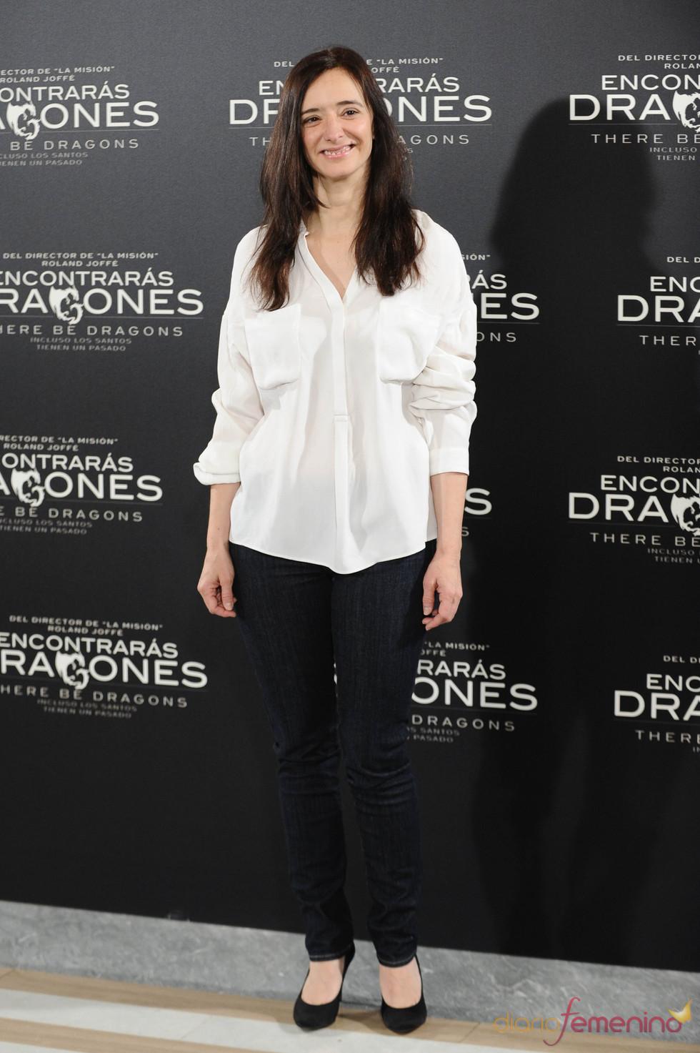 Anna Torrent en la presentación de 'Encontrarás dragones'
