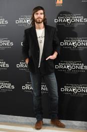 Alfonso Bassave en la presentacion de 'Encontrarás dragones'