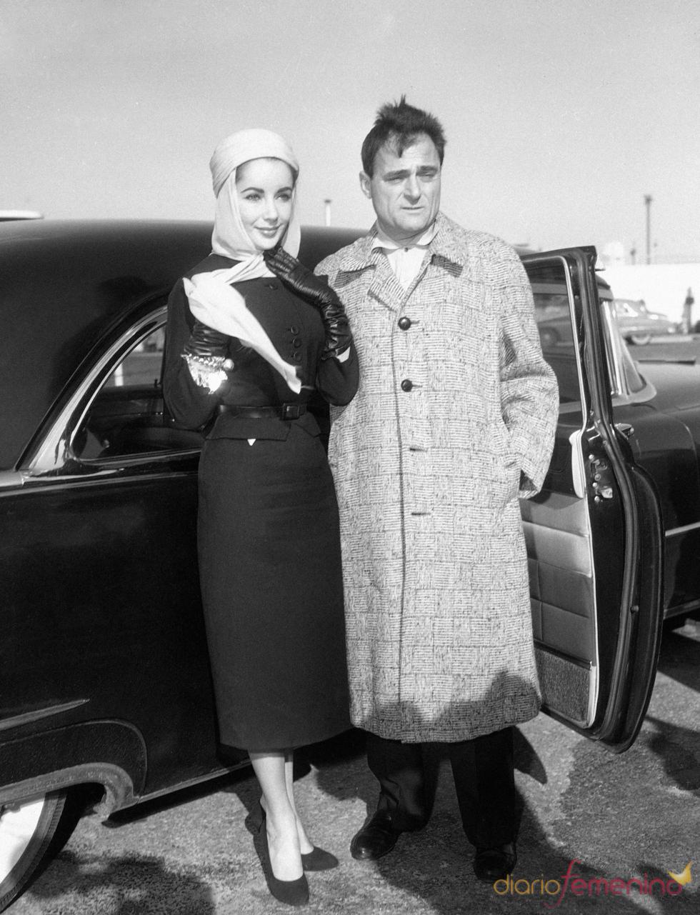 Elisabeth Taylor en 1957