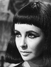 Elisabeth Taylor en 'Cleopatra'