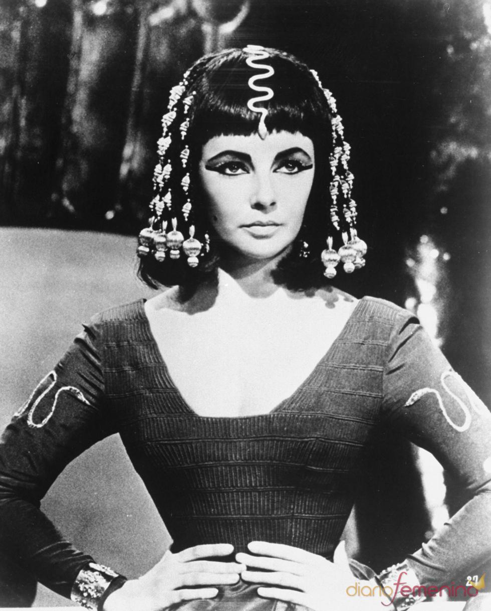 Elisabeth Taylor en su gran papel 'Cleopatra'