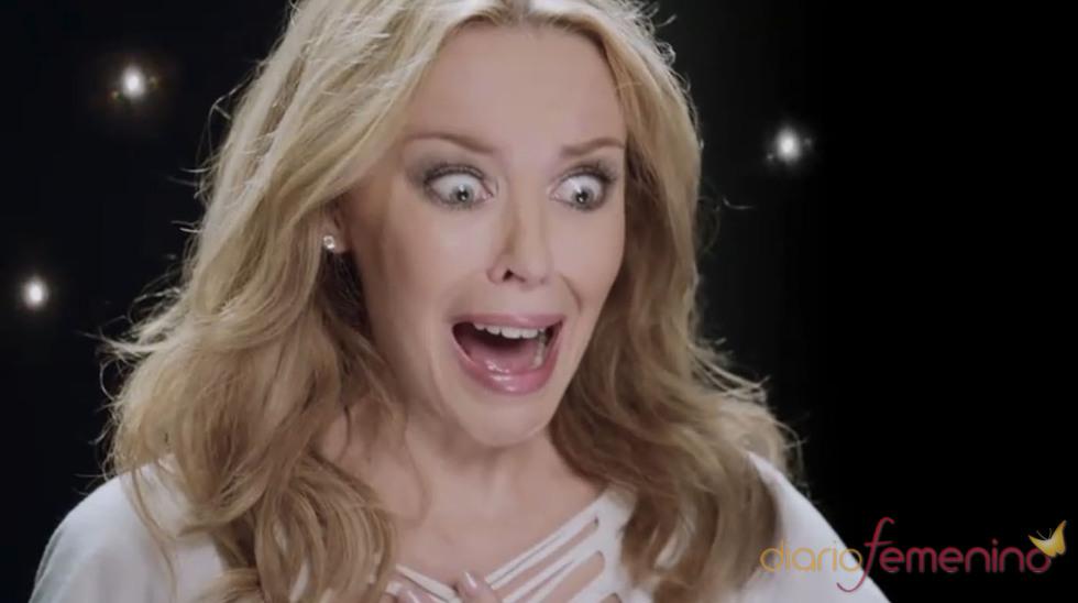 Kylie Minogue aterrorizada tras descubrir a su imitador