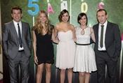 Muchas caras conocidas en la fiesta del 5º aniversario de 'La Sexta'