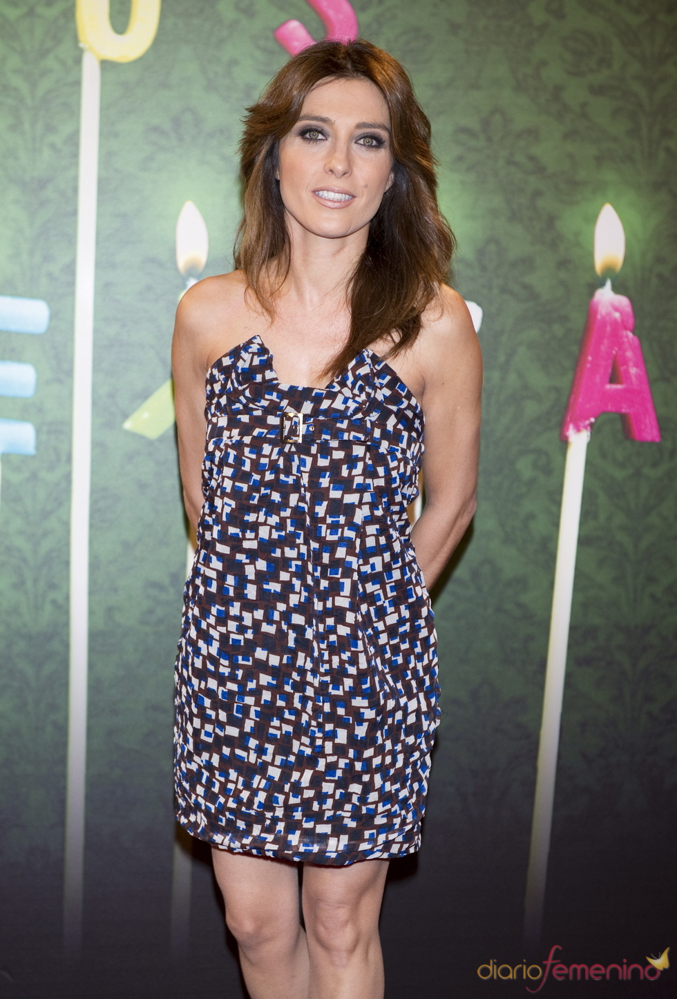 Helena Resano en la fiesta del 5º aniversario de 'La Sexta'