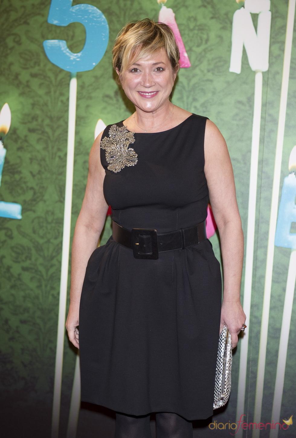 Ines Ballester en la fiesta del 5º aniversario de 'La Sexta'