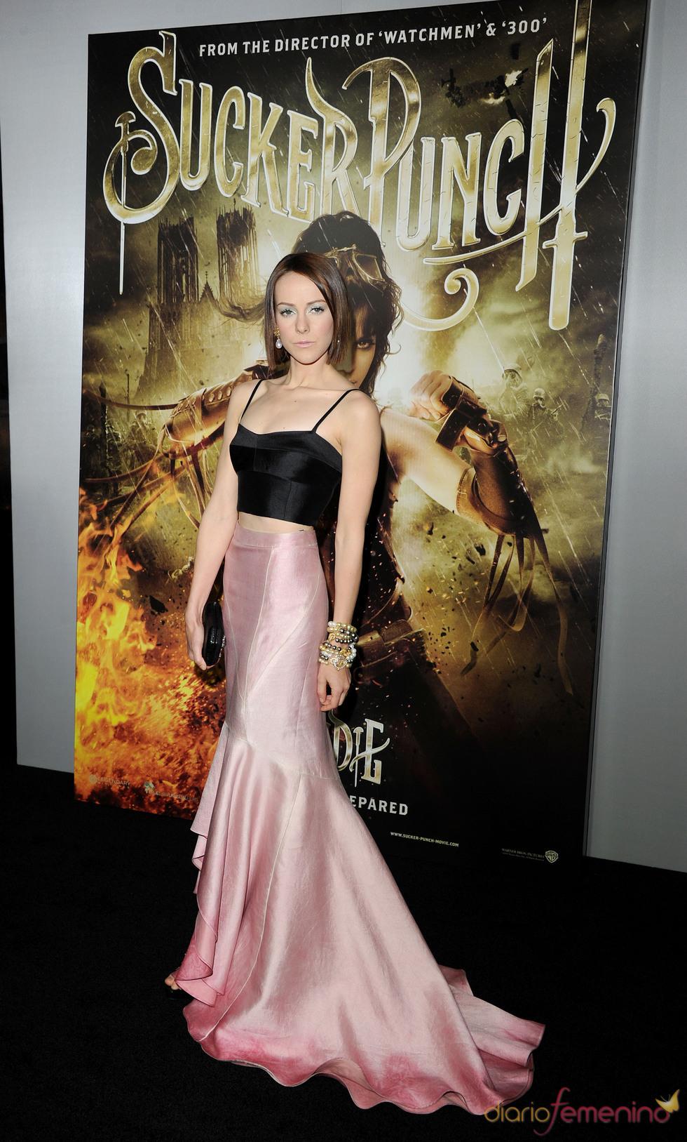 La protagonista Jena Malone en la premiere de 'Sucker Punch'