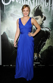 La protagonista Abbie Cornish en la premiere de 'Sucker Punch'