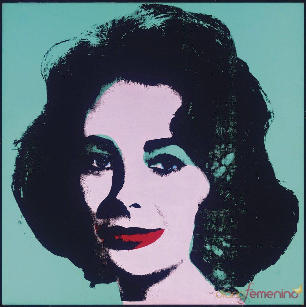 Un famoso retrato de Liz Taylor realizado por Warhol en venta