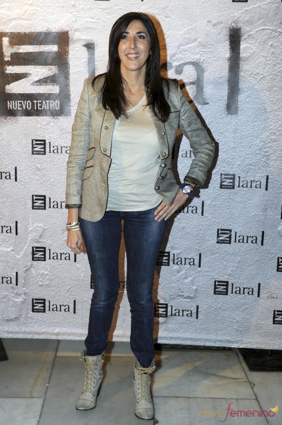Paz Padilla en el estreno de 'Más allá del puente'