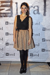 La actriz Cristina Brondo en el estreno de 'Más allá del puente'