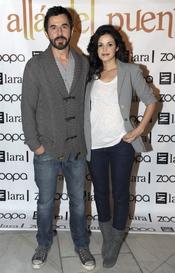 Santi Millán y Marta Torné en el estreno de 'Más allá del puente'