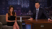 Penélope Cruz es la invitada en el programa 'Jimmy Kimmel Live'