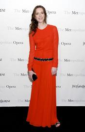 Rebecca Hall posa en el Museo Metropolitano neoyorquino