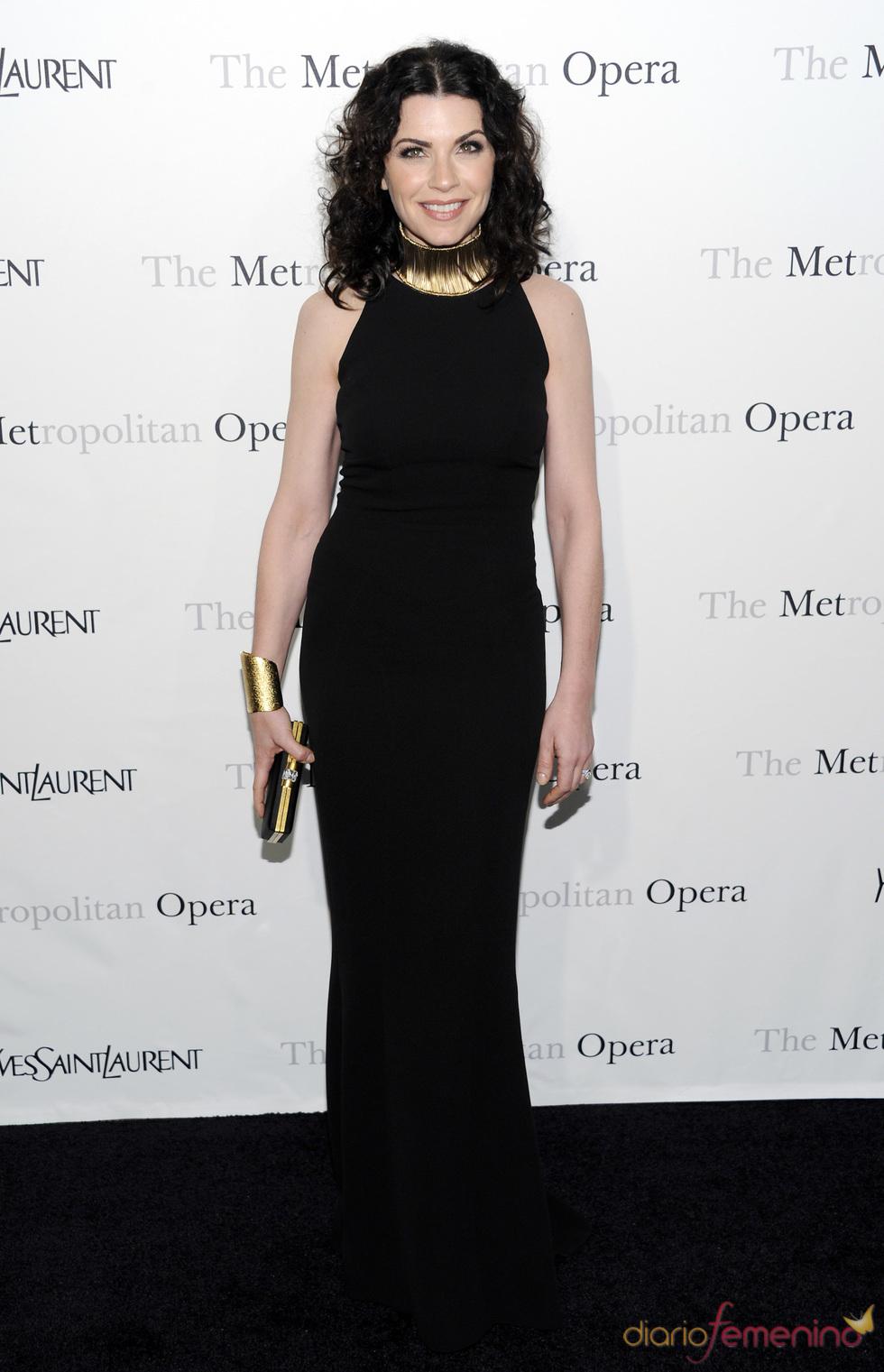 Julianna Margulies en la premiere 'Le Comte Ory' de Rossini