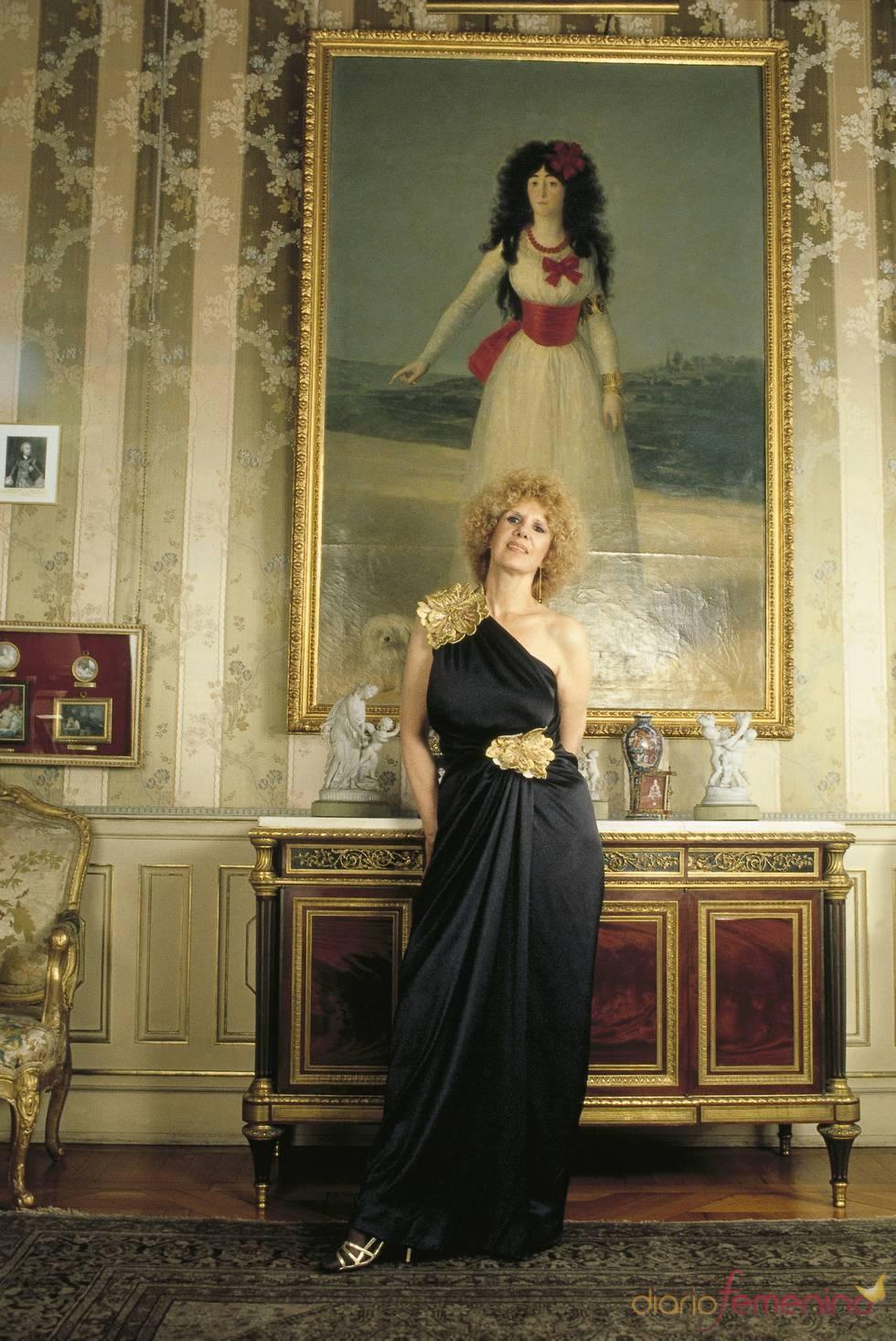 La Duquesa de Alba junto al retraso de su antepasada en Liria