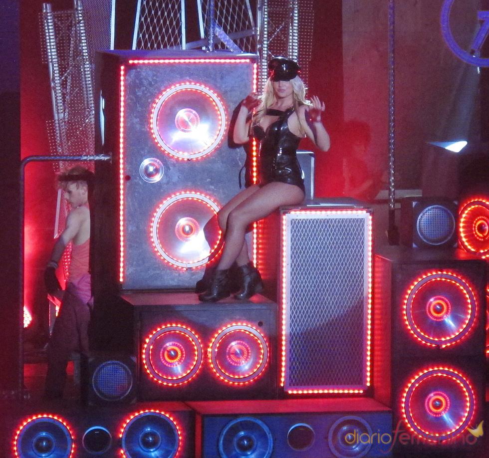 Britney Spears, despampanante en su concierto en Las Vegas