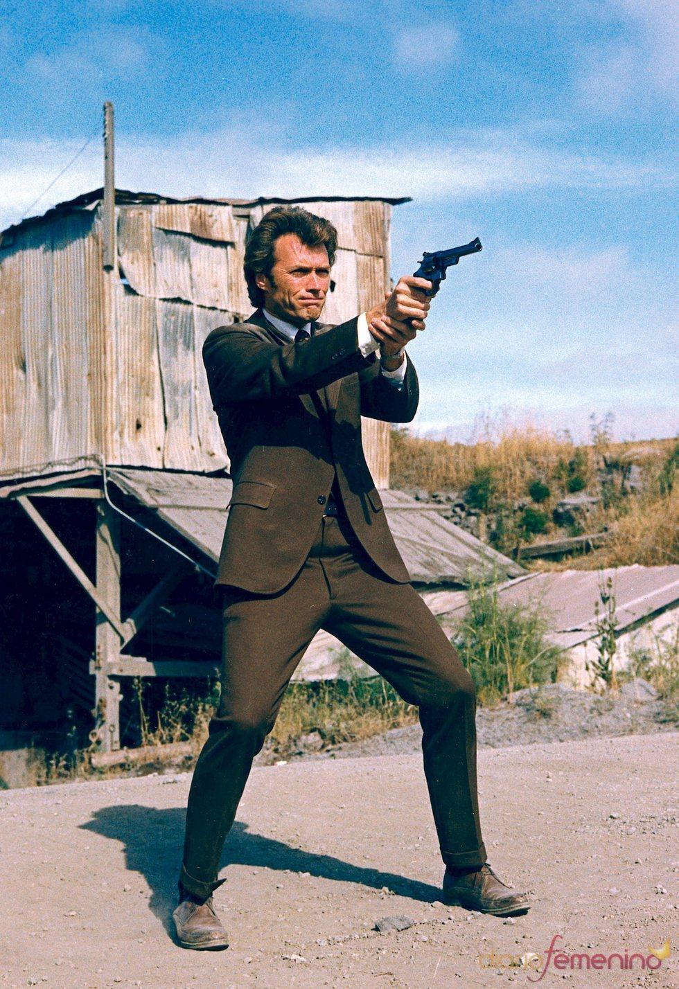 Clint Eastwood, en un fotograma de la película 'Harry el Sucio'
