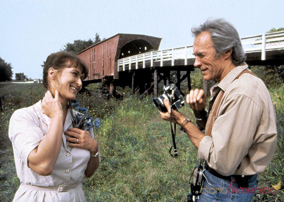 Clint Eastwood en un fotograma de la película 'Los Puentes de Madison'