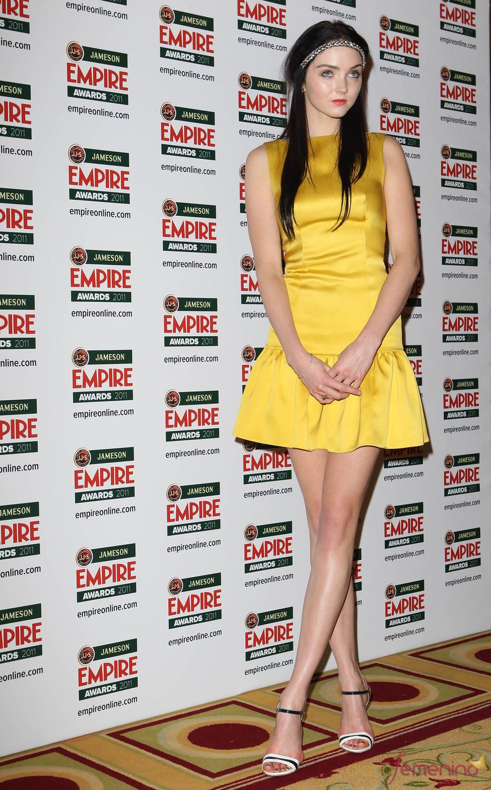Lily Cole en los Premios Empire 2011