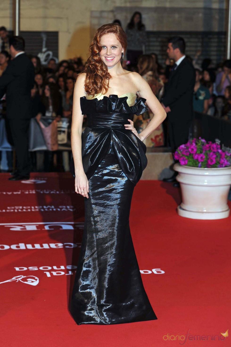 María Castro en la inauguración del Festival de Cine de Málaga