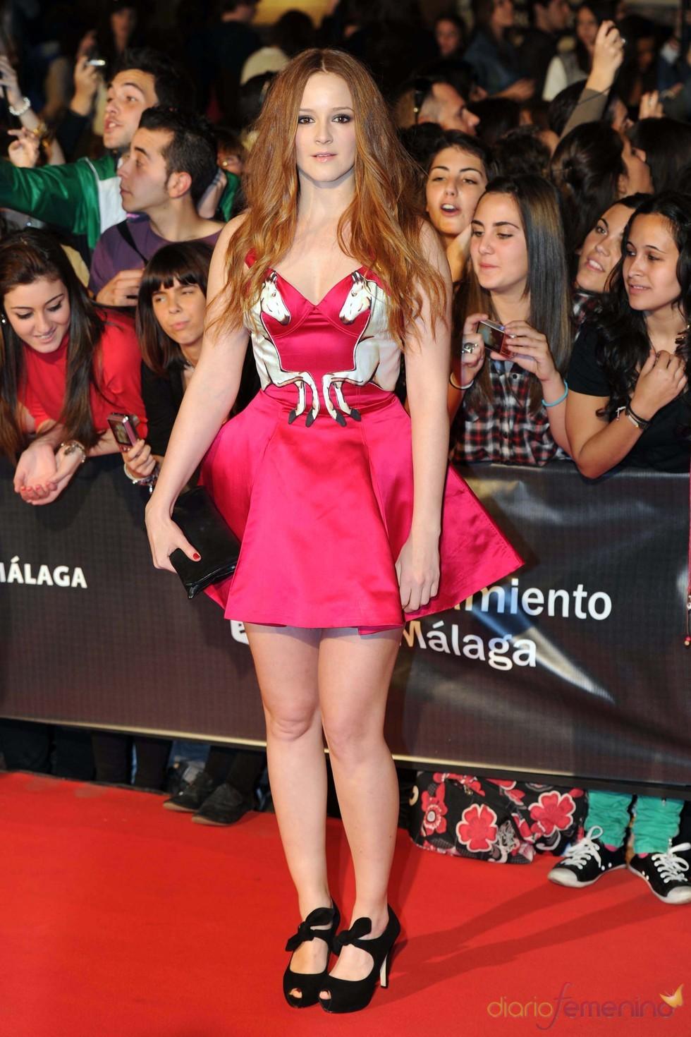 Ana María Polvorosa acude a la inauguración del Festival de Málaga 2011