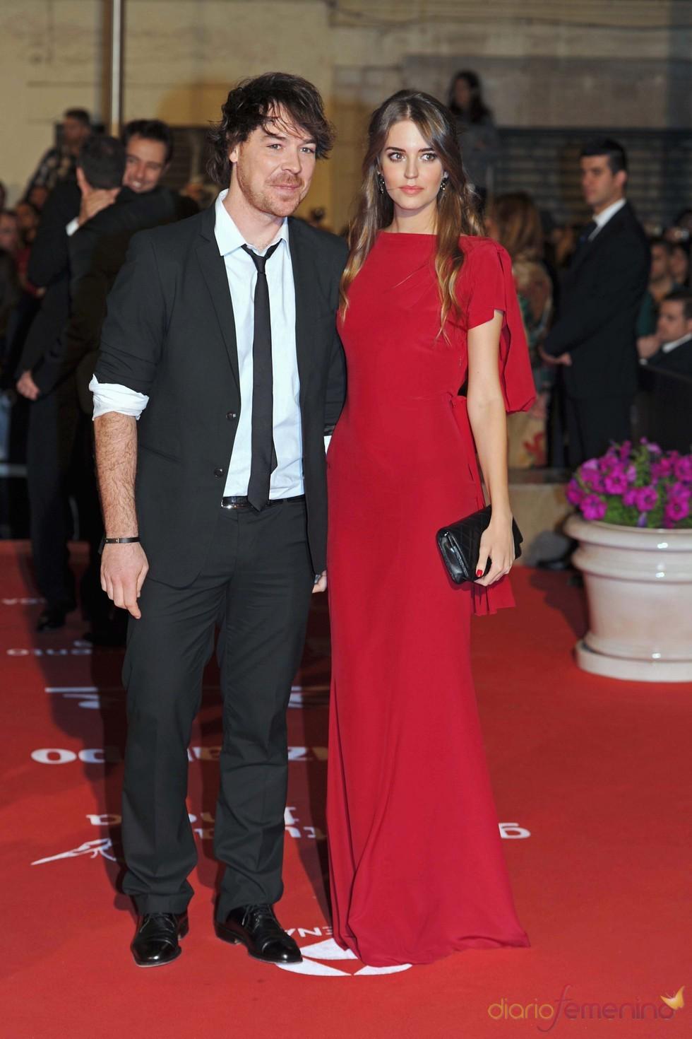 Clara Alonso y David Feito, juntos en el Festival de Málaga 2011