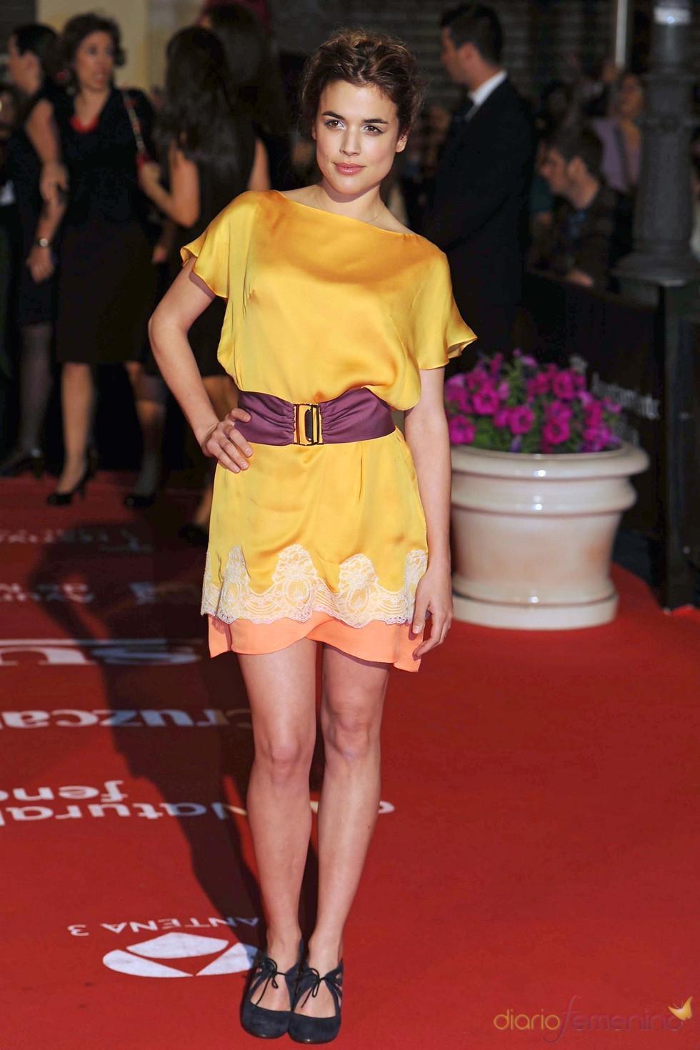 Adriana Ugarte asiste a la inauguración del Festival de Cine de Málaga