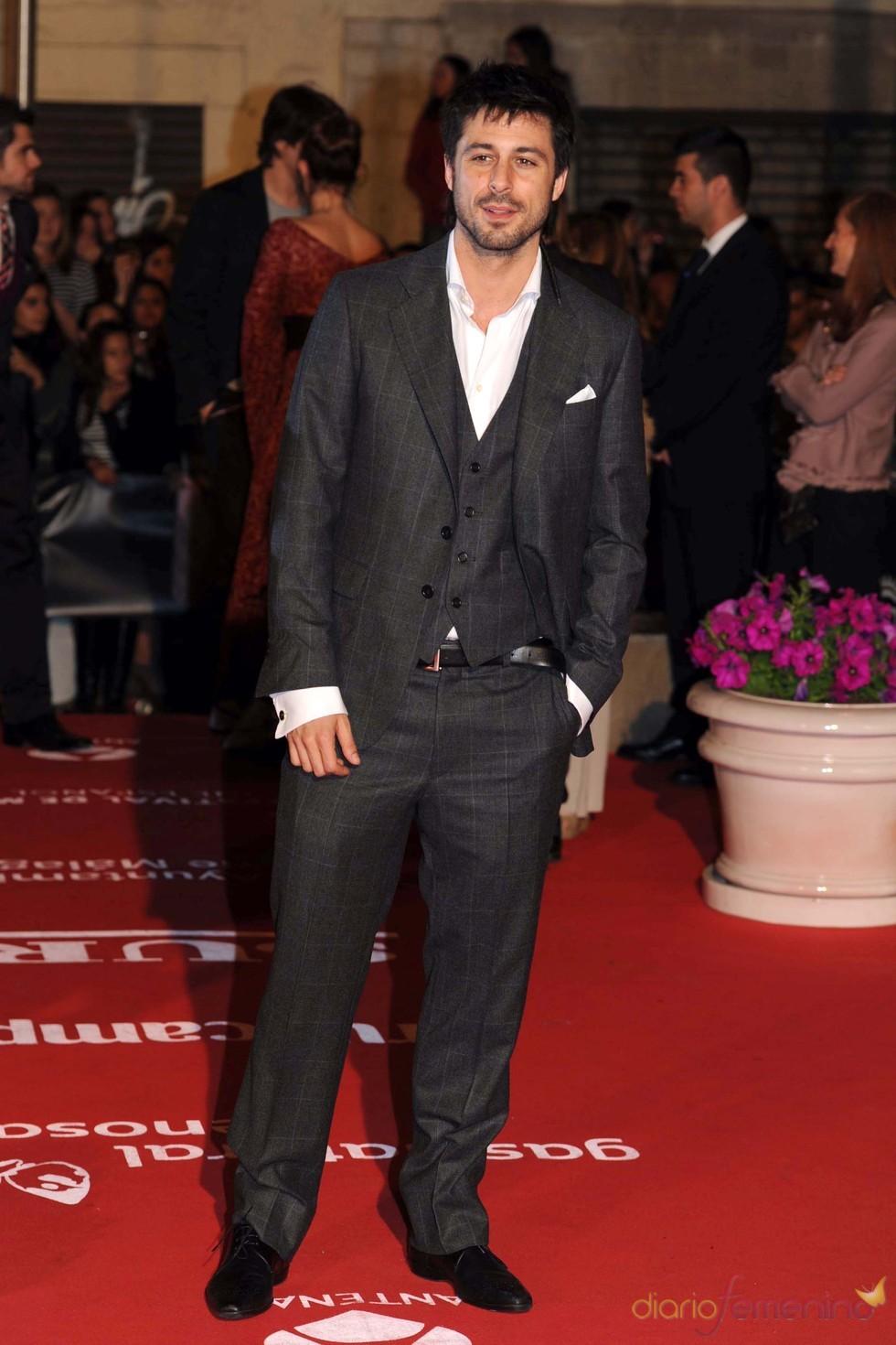 Hugo Silva en el Festival de Cine de Málaga 2011