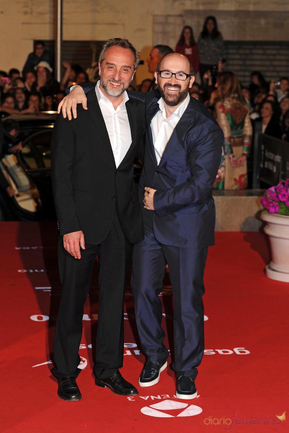 Gonzalo de Castro y Javier Cámara en el Festival de Cine de Málaga
