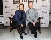 Carlos Hipólito y Mapi Sagaset en la gala Mecenazgo del Teatro Lara