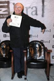 Raúl Sénder en la gala Mecenazgo del Teatro Lara