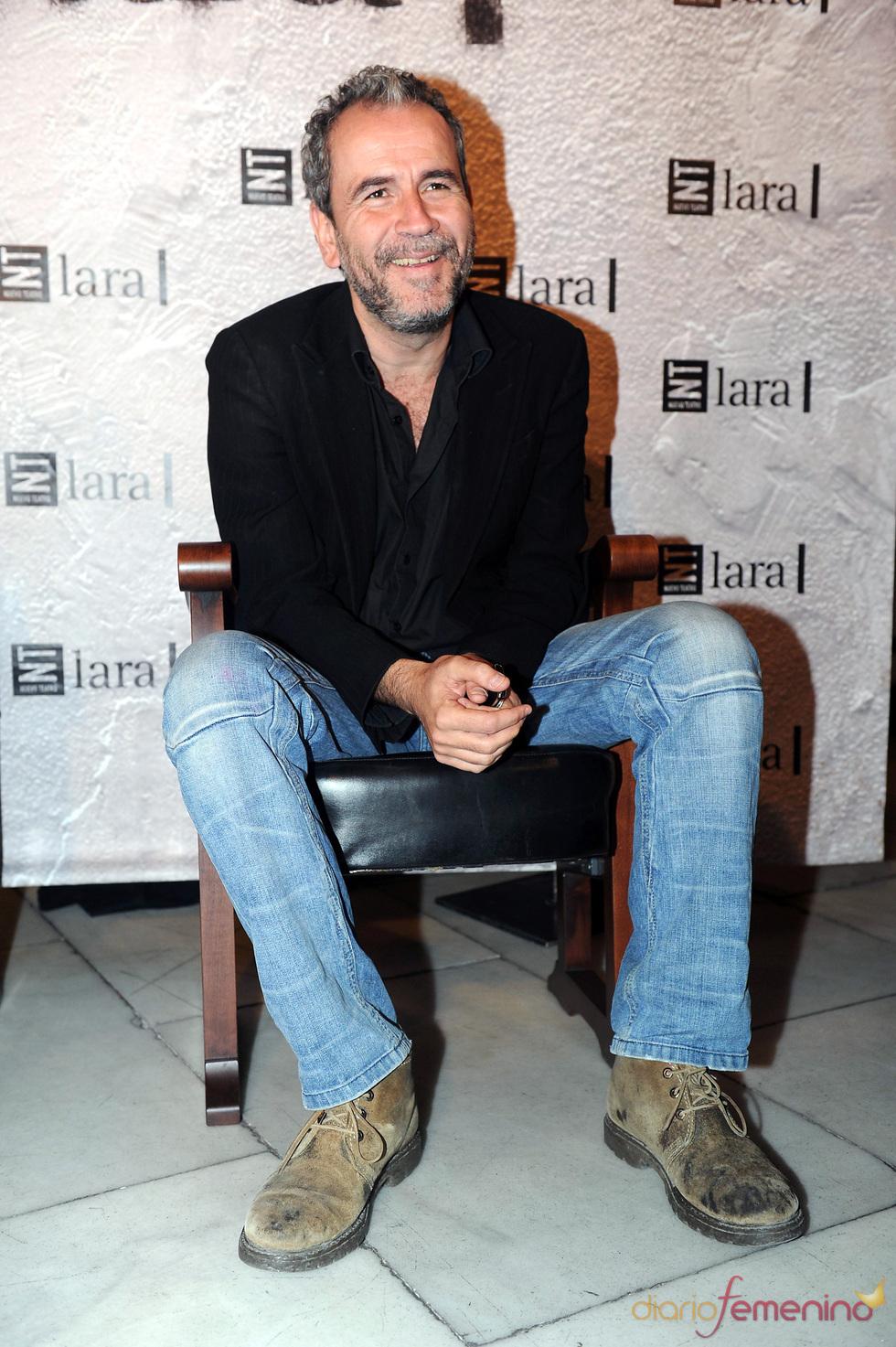 Willy Toledo en la gala Mecenazgo del Teatro Lara