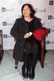 Petra Martínez en la gala Mecenazgo del Teatro Lara