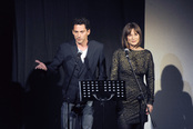 Paco León y Aitana Sánchez-Gijón presentaron la gala Mecenazgo del Teatro Lara