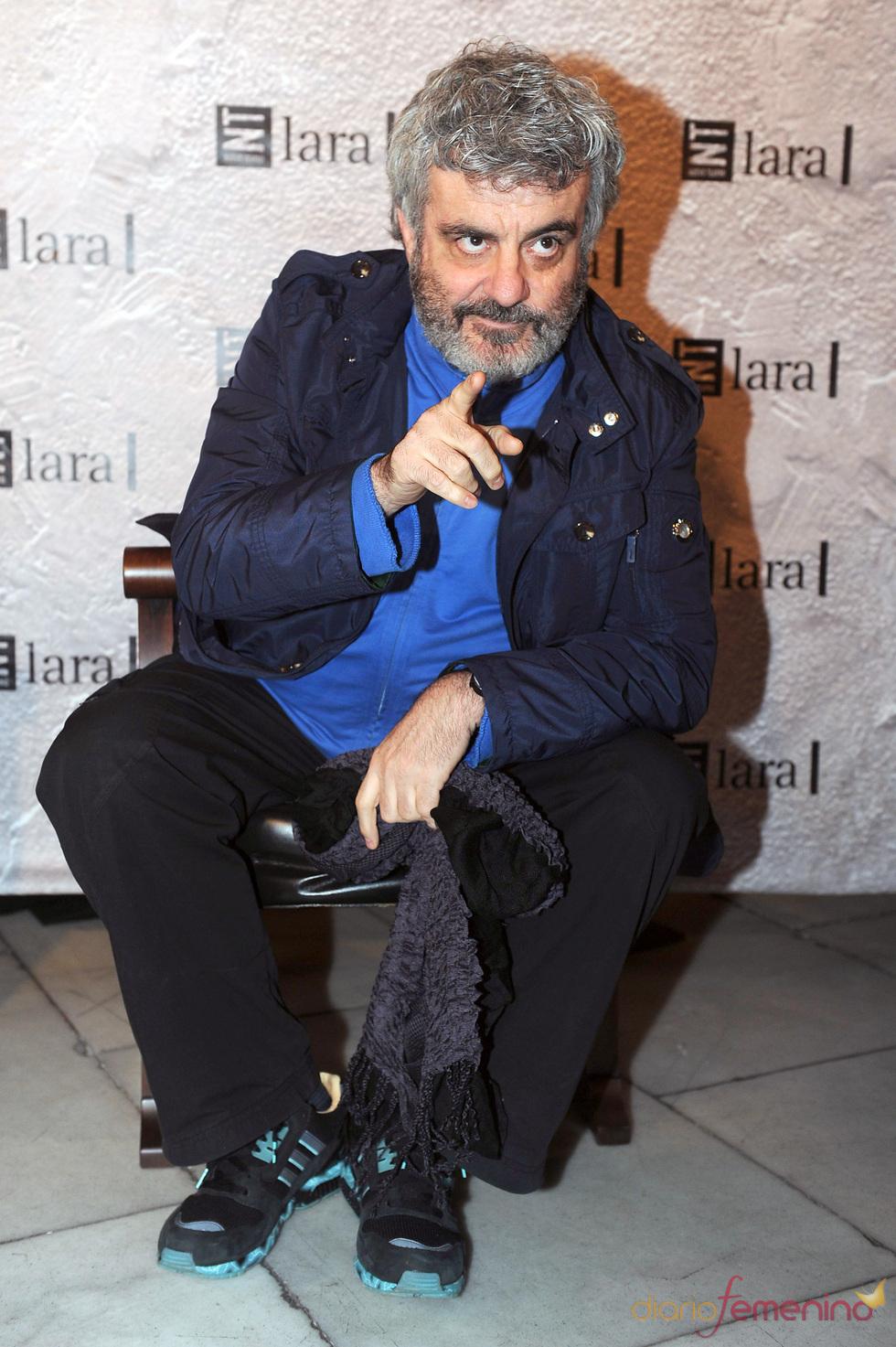Millán Salcedo en la gala Mecenazgo del Teatro Lara