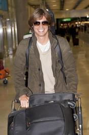 Carlos Baute aterriza en España para presentar 'Amartebien'