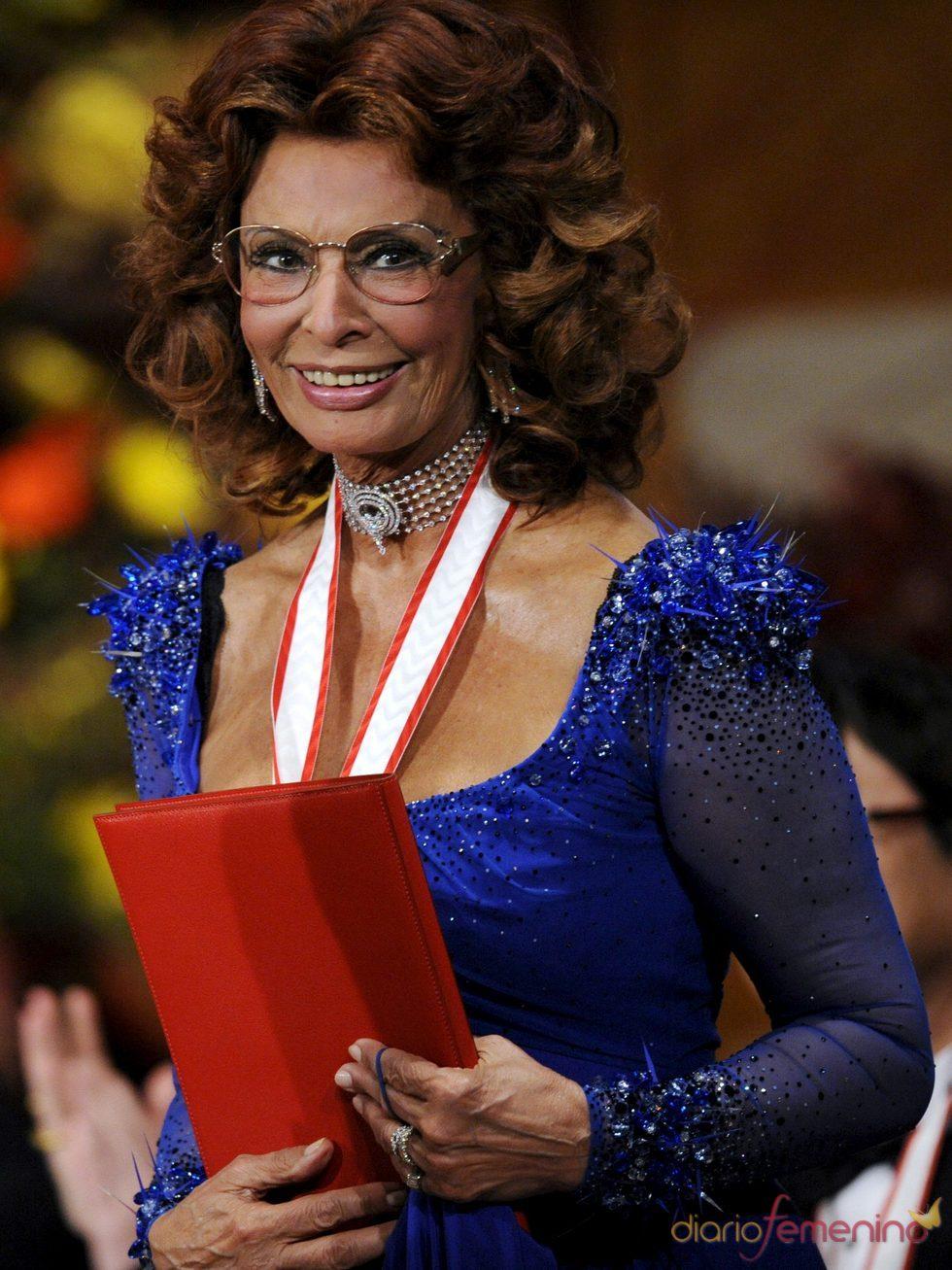 La Academia de Hollywood rendirá homenaje a Sofía Loren