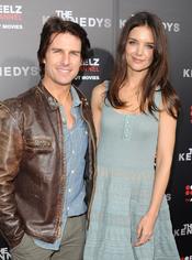 Tom Cruise y Katie Holmes, en la alfombra roja de 'Los Kennedy'