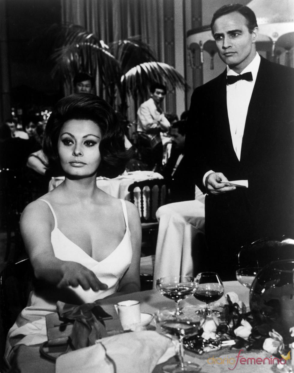 Sophia Loren en 'La condesa de Hong Kong'