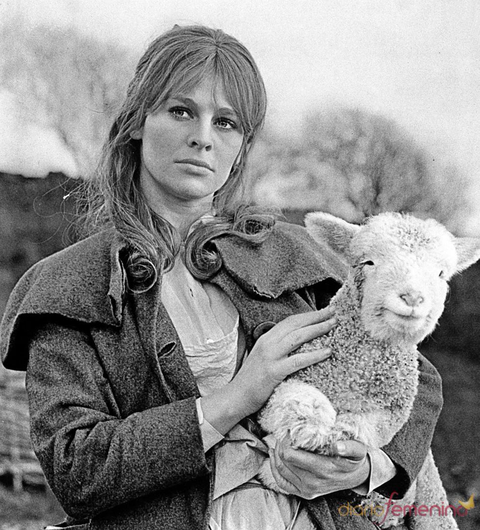 Julie Christie en la película 'Lejos del mundanal ruido'