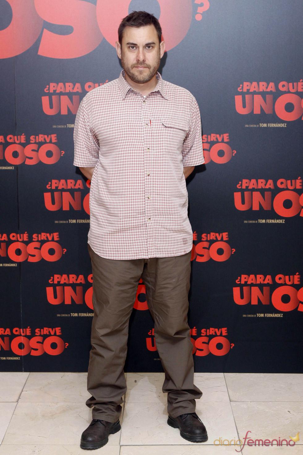 Tom Fernández, director de '¿Para qué sirve un oso'?