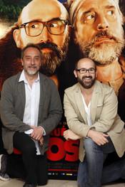 Gonzalo de Castro y Javier Cámara en la presentación de '¿Para qué sirve un oso'?