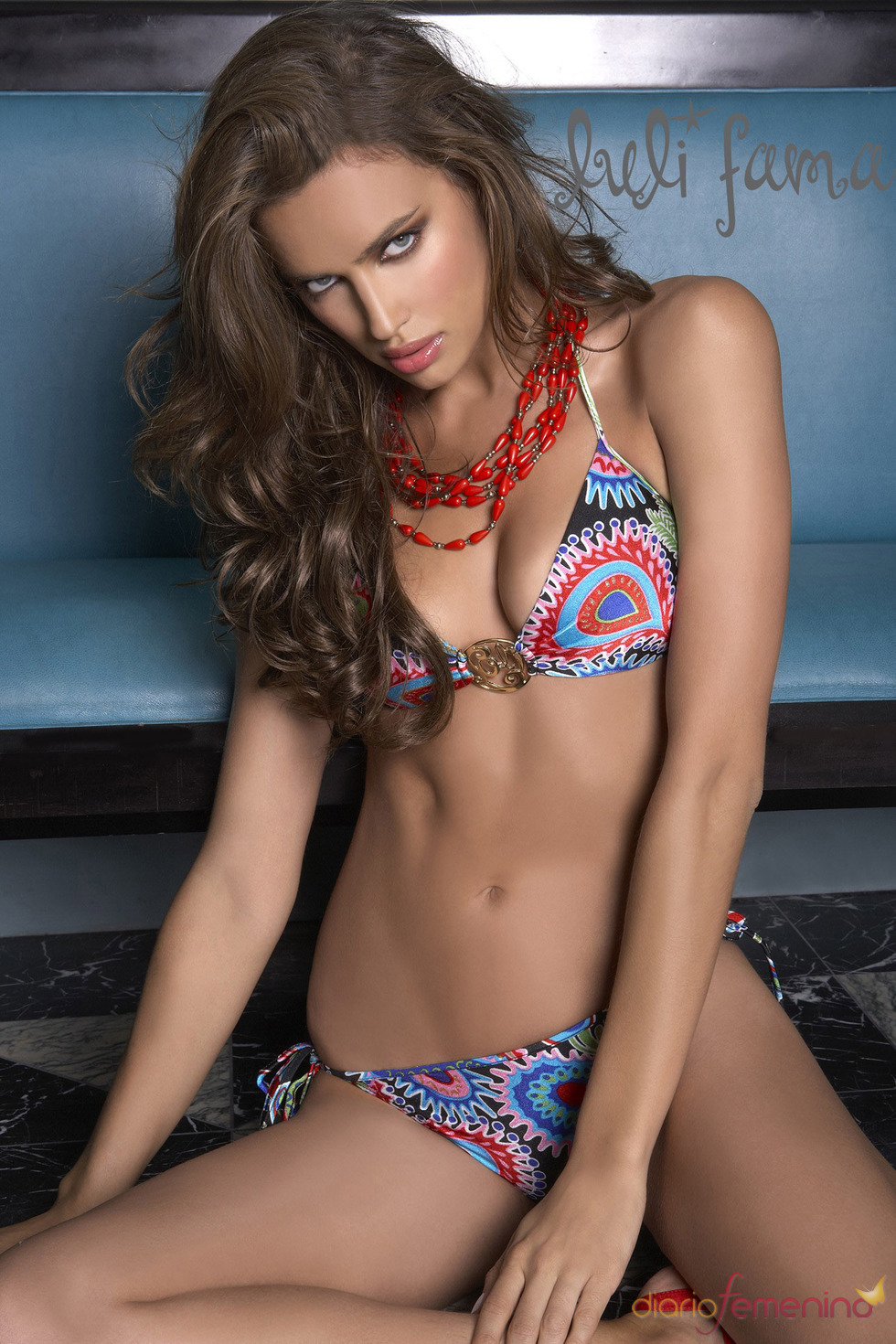 Irina Shayk presume de cuerpazo en bikini