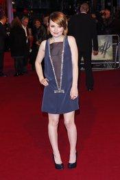 La protagonista Emily Browning en la premiere de 'Sucker Punch' de Londres
